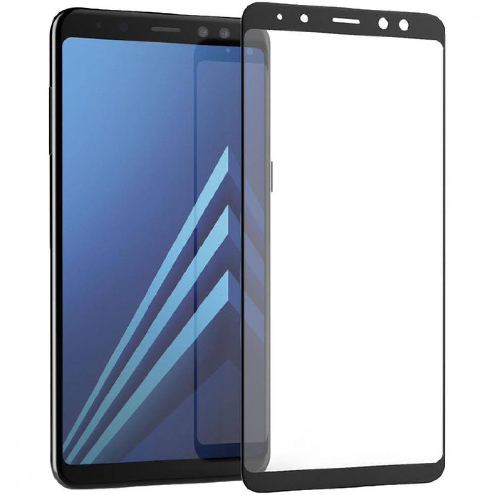 Защитное стекло 5D Samsung Galaxy A8 (2018)
