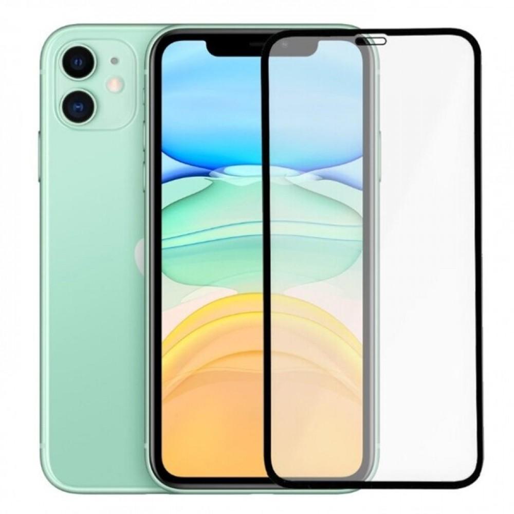 Защитное стекло 5D для Apple iPhone 11/XR