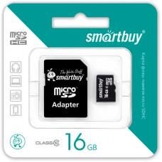 Карта памяти Micro SD 16 Gb Class 10