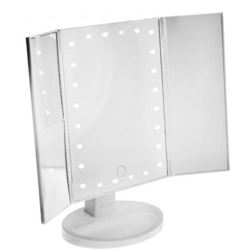 Зеркало ENERGY EN-799Т, подсветка, 22.3 х 16.3 см, увеличение 3Х/5Х, 4хАА