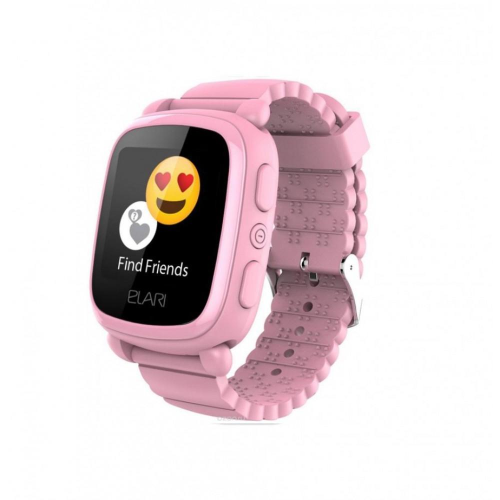 Детские умные часы ELARI KidPhone 2 Pink
