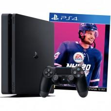 Игровая приставка Sony PlayStation 4 Pro 1 ТБ Black + Игра NHL 20