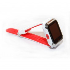"""Умные GPS-часы-телефон FindMyBaby """"Школьник Спорт"""" Белый+Красный"""