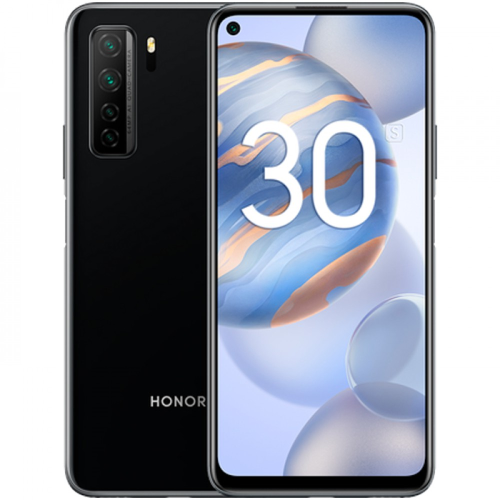 Honor 30S 6/128GB Midnight Black (RU)