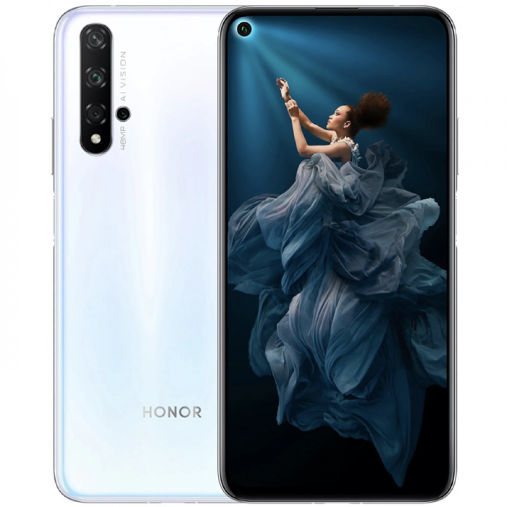 Huawei Honor 20 6/128GB Icelandic White