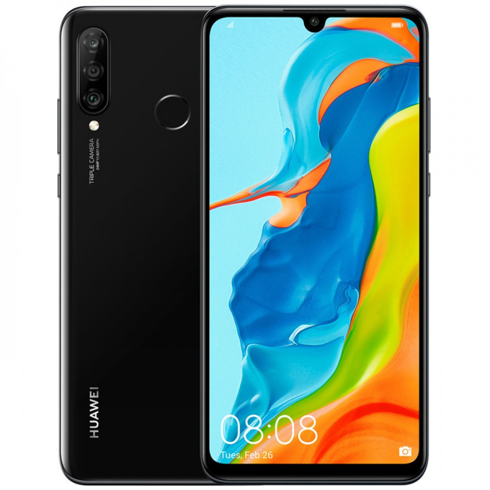 Huawei P30 lite 4/128GB Midnight Black