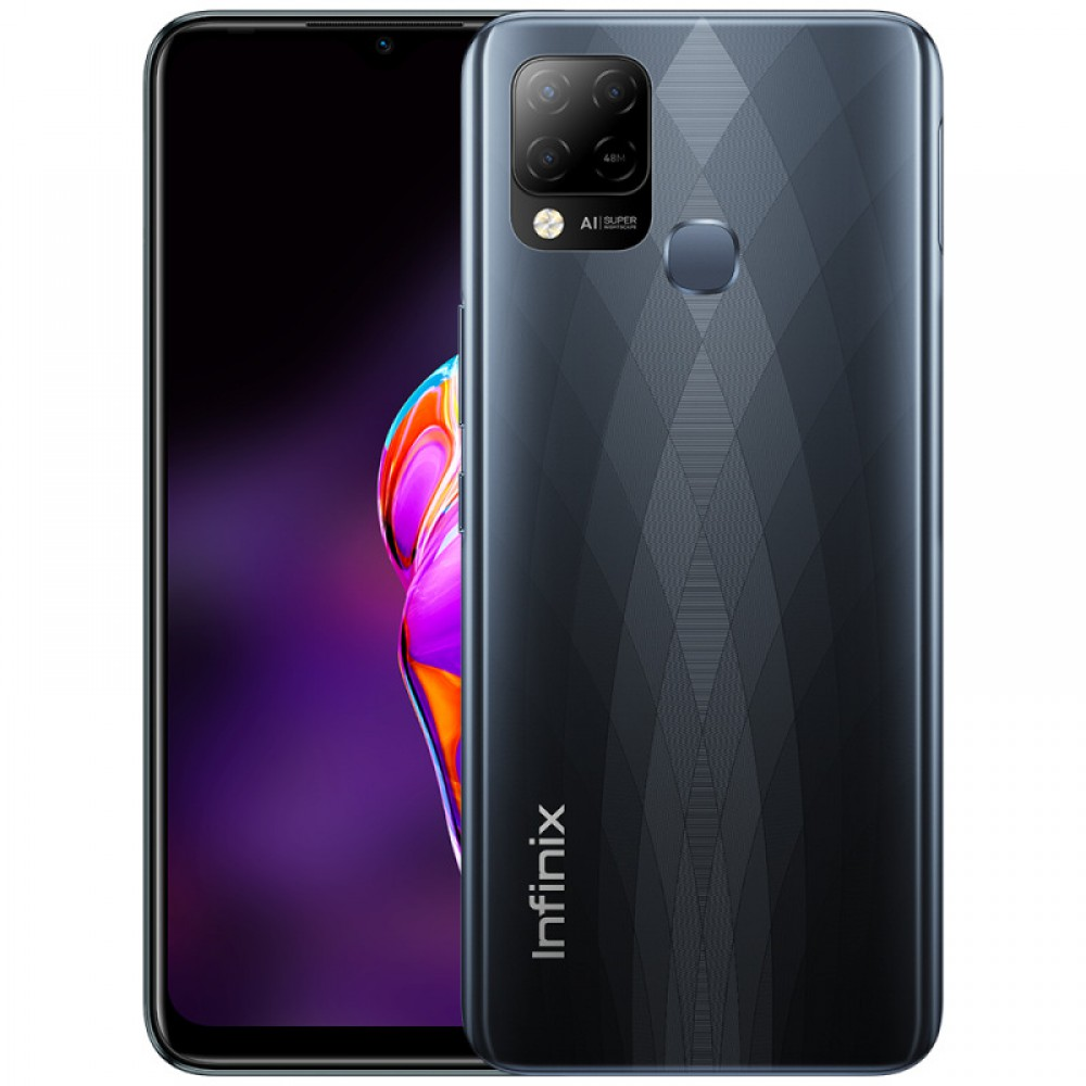 Infinix HOT 10S 4/128GB Black