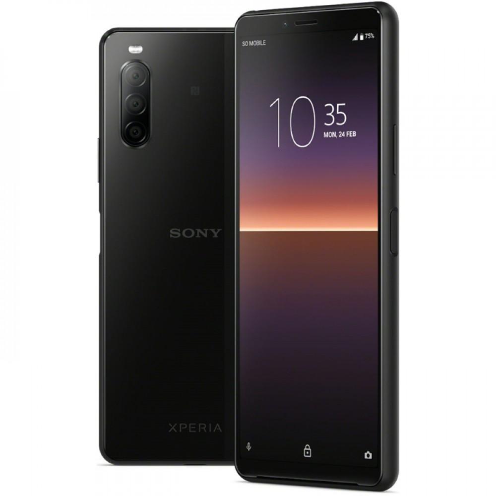 Купить смартфон Sony Xperia 10 II Dual Black в Санкт-Петербурге по выгодной цене с гарантией и доставкой