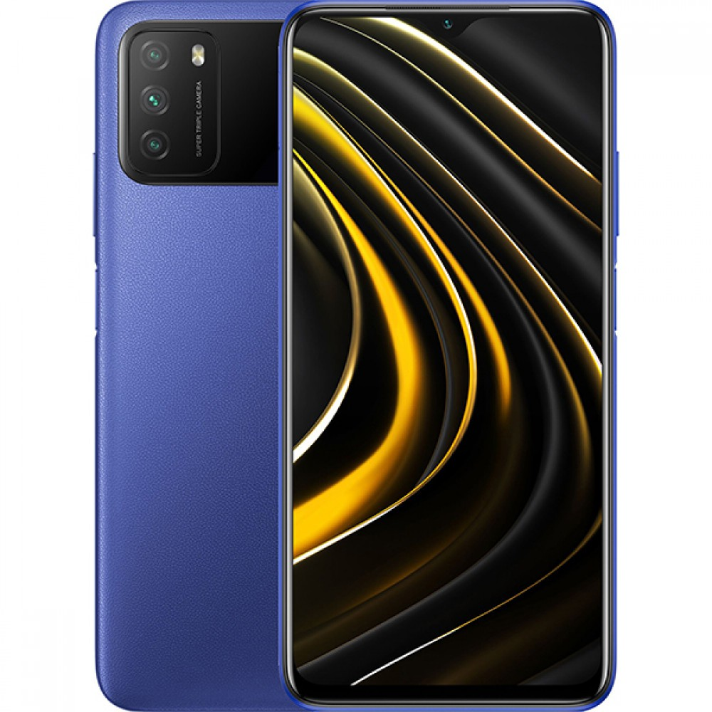 Xiaomi Poco M3 4/64GB RU Cool Blue