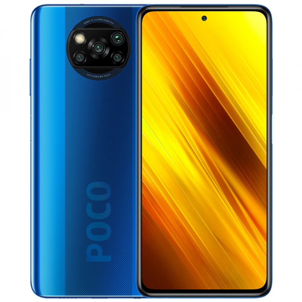 Xiaomi Poco X3 NFC 6/128GB Global Version Cobalt Blue