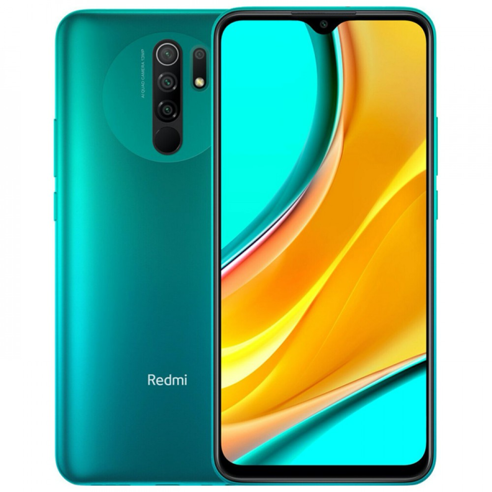 Xiaomi Redmi 9 4/64GB (NFC) Global Version Ocean Green