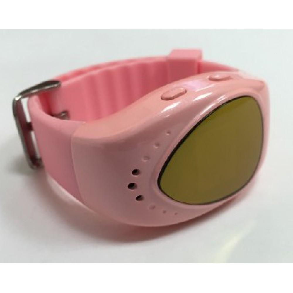 """Умные GPS-часы-телефон для детей FindMyBaby """"Малыш"""" Розовые (часофон)"""