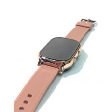 """Умные GPS-часы-телефон FindMyBaby """"Школьник"""" Золотистые."""